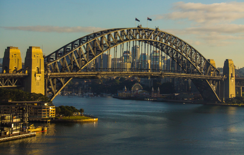 Sydney Harbour by Devin Galaudet