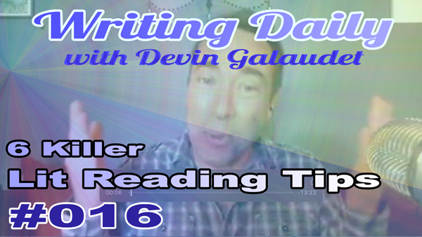 Writing Daily 6 literary reading tips 016