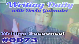 Suspenseful writing