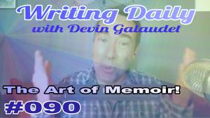 Memoir is an art