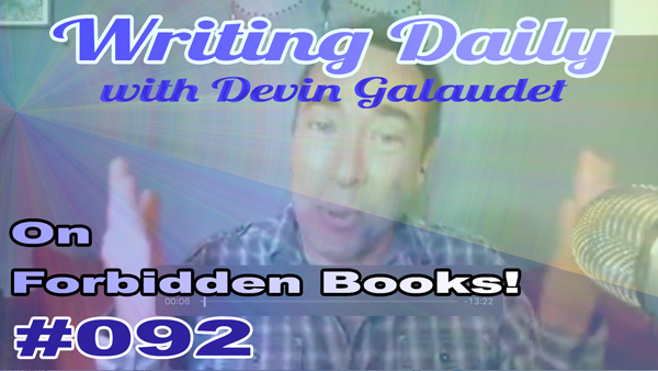 092 Writing Daily: Forbidden Books