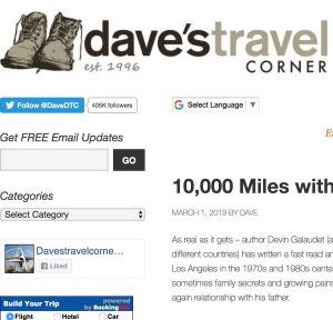 10,000 Miles with my Dead Father's Ashes Book Review