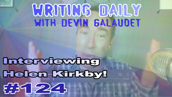 124 Writing Daily: with Helen Kirkby